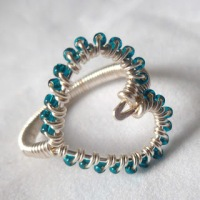 Wire Wrapped Jewelry Tutorial: Heart Ring