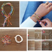 DIY Seed Bead Bracelets for Thanksgiving