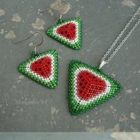 Watermelon DIY jewelry Show~~