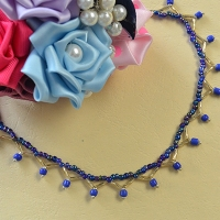 Making Cute and Easy Seed Bead Anklet
